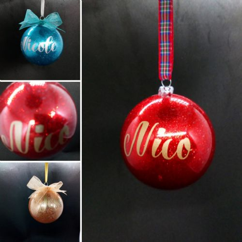 OMG Sparkling Personalised Tree Bauble